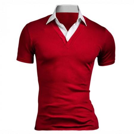 Shirt Polo Men's Casual Elegant