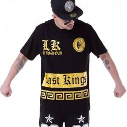 Camiseta Egípcias Last Kings Dourado Masculinas Balada Funk Urbana Música Hip Hop