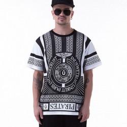 Camiseta Branca UNKUT Egipcia Masculina Funk Festa Hip Hop Faraó