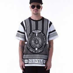 T-Shirt White UNKUT Egyptian Men's Funk Hip Hop Pharaoh