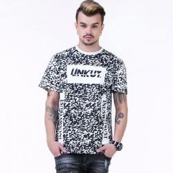 Camiseta UNKUT Branca Streetwear Masculina Festa Funk Kings Hip Hop Loka
