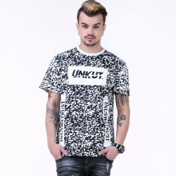 UNKUT T-Shirt Streetwear Men's White Funk Kings Hip Hop Crazy