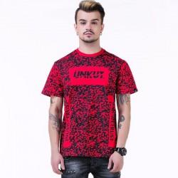 UNKUT T-Shirt Streetwear Men's Red Funk Kings Hip Hop Crazy