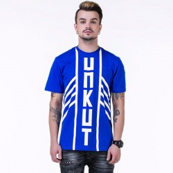 UNKUT T-Shirt Indian Streetwear Men's Blue Funk Kings Hip Hop Crazy