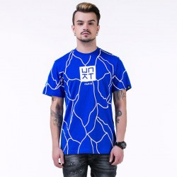 UNKUT T-Shirt Streetwear Men's Blue Funk Kings Hip Hop Crazy