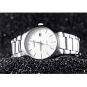 Relógio Fino Clássico Masculino Elegante Formal Minimalista Escuro Sofisticado