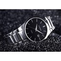 Fine Classical Men's Watch Elegant Formal Minimalist Dark Sophisticated