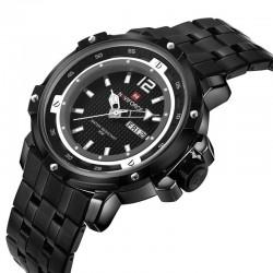Relógio de Pulso Quartzo Esporte Masculino Militar de Pulso Aço Inoxidável