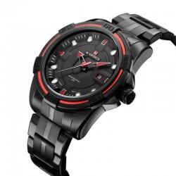 Relógio Esportivo Clássico Sofisticado Masculino Quartzo Elegante Luxo