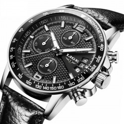 Watch Stylish Men's Sport Luxury Suede Luxury