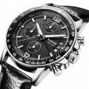 Relógio Elegante Esporte Masculino Sofisticado de Luxo Caixa Grande