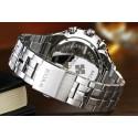 Quartz Luxury Stainless Steel Men's Sport Watch Stylish