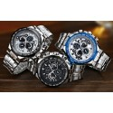 Quartz Luxury Stainless Steel Men's Sport Watch Stylish