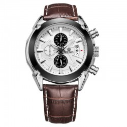 Stylish Social Watch Men's Sport Luxury Leather Watch