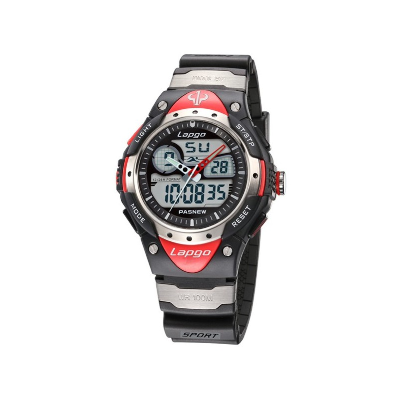 Sport watch lapgo water resistant modern adventure for Adventure watches
