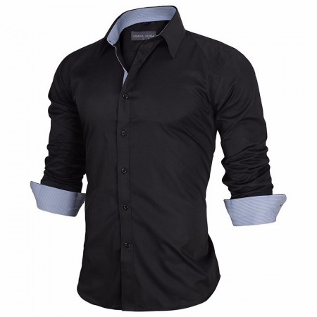 Stylish Slim Fit Basic Men's Shirt Stylish Slim Fit Men's Shirt