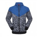 Jacket Men's Athletic Training Printed Hooded