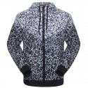 Jacket Men's Athletic Training Printed Hooded