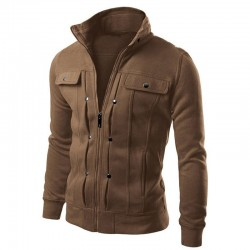 Jacket Elegant Casual Male