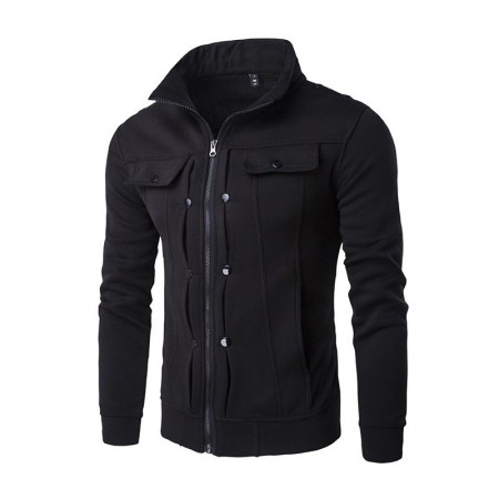 Winter Zipper Sweater Mens Blouse Stylish Jacket Sweatshirt
