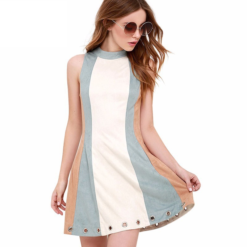 887/5000 Lit Short Dress Casual Working Pastel Colors ...