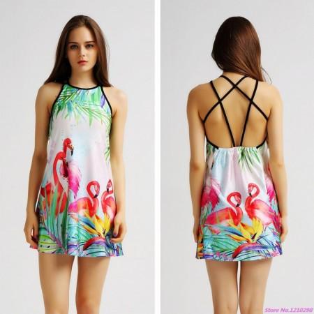 Tankini Dress Fashionable Dress Fashion Summer Beach Light Colored Short