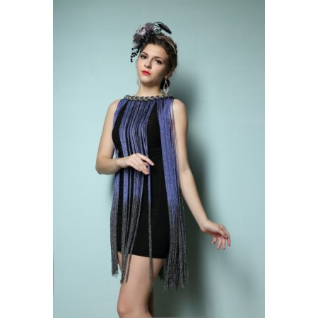 Ball Gown Flapper Metal Club Women's Party Gradient Shoulder