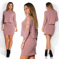 Women's Casual Dress Casual Long Sleeve Casual Simple