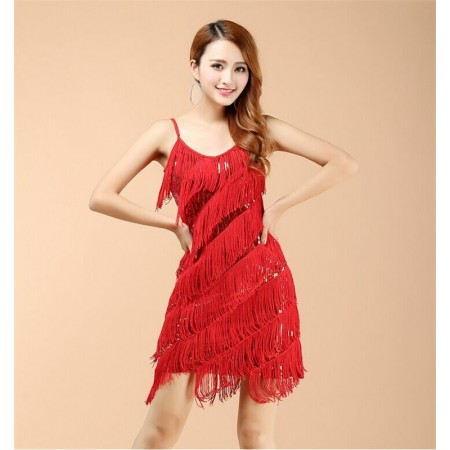 Carnival Dress Women's Yarn Flapper Vintage Flapper