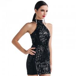 Vestido Elegante Evento Social Luxo Alta Qualidade Sofisticado com Paête