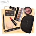 Conjunto Completo de Maquiagem Kit com 8 itens Inclusos e Bolsa
