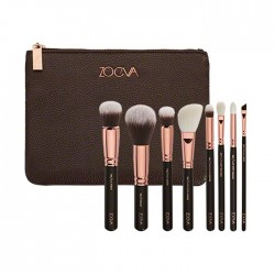 Eye Makeup Brushes Kit Eyes Set with 8 Brushes with Case