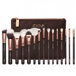 Professional Makeup Brushes Kit Eyes Set with 15 Wool Brush