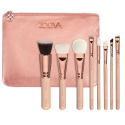 Zoeva Basic Makeup Brush Kit with 8 Items and Free Bag