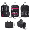 Full Professional Make-Up Set Full Suitcase with Brushes