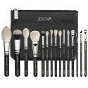 Kit 15 Makeup Brushes with Free Carrying Case Set