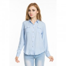 Women's Casual Long Sleeve Casual Work Shirt