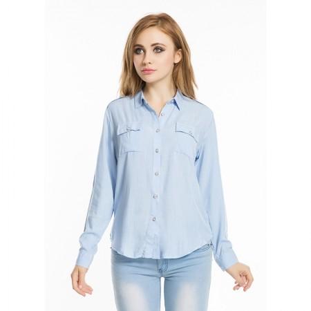 Women's Casual Long Sleeve Casual Work Shirt
