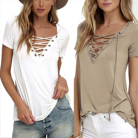 Women's Casual Blouse India Casual with Bow Ties Style Cavalcade
