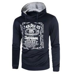Moletom Whiskey Jack Daniel's Masculino com Capuz Moda Inverno