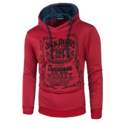 Whiskey Jack Daniel's Men's Hooded Sweatshirt Winter Fashion