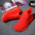 Red Unisex Casual Shoes Air Sneakers Hiking