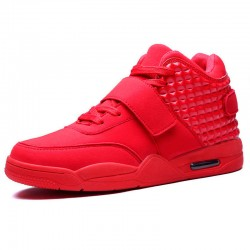 Tennis shoe Male Youth Sport Upper East Red Casual Skate