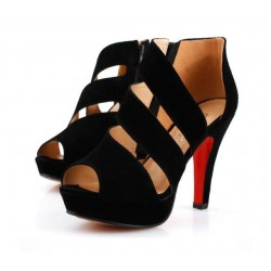 Footwear High Heels Thin Female Black Modern Design Elegant Social