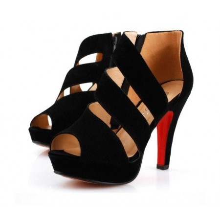 Footwear High Heels Thin Female Black Modern Design Elegant Social