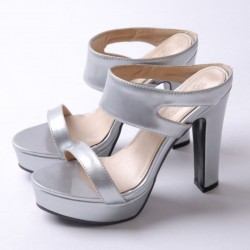 Women's High Top Shoe with Platinum Plated Colors Katy Perry Bow