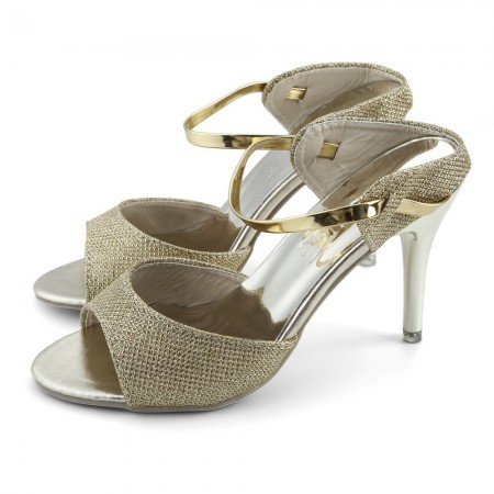 Women's Metallic Sandal Casual Casual Low Lady Height