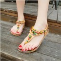 Women's Sandal Decorated Casual Colorful Elastic Creeper