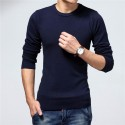 Men's Winter T-Shirts Casual Long Sleeve Casual Various Colors
