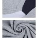Men's Two Colors Black T-Shirt Casual Short Sleeve V-Neck